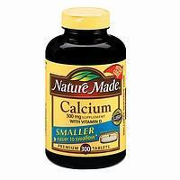 Nature Made Calcium 500mg with Vitamin D